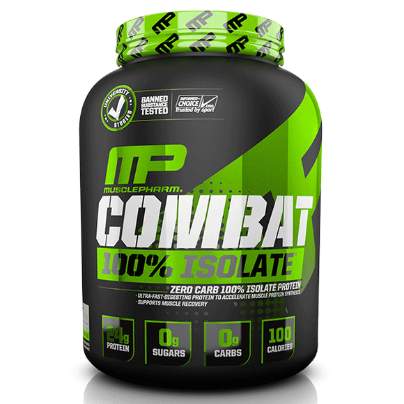 MusclePharm Combat Sport 100% Isolate - FitNation Supplements