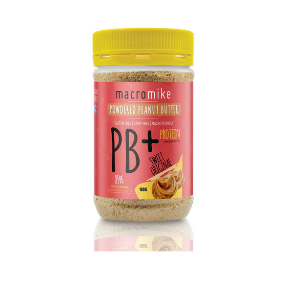 Macro Mike PB+ POWDERED PEANUT BUTTER - FitNation Supplements
