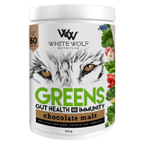 White Wolf Nutrition Greens + Gut Health Immunity - FitNation Supplements