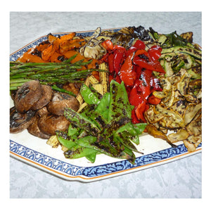 Griddled Vegetables by Judy Stephenson