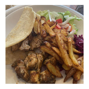 Chicken Gyros by Michelle Gregory