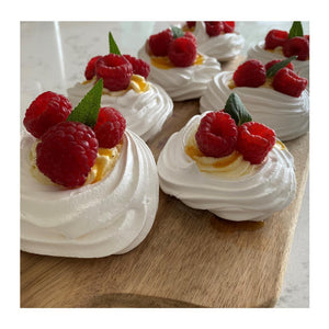 Mini Pavlovas by Audrey Jestin