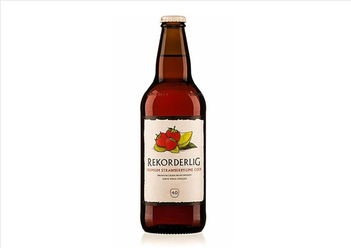 Rekorderlig Strawberry and Lime Cider (Case 15 x 500ml)
