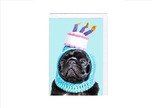 CARD - BIRTHDAY HAT - Osolocal2U