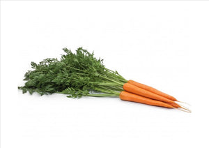 Carrots Bunched with Tops (Aprox 300g) - Osolocal2U