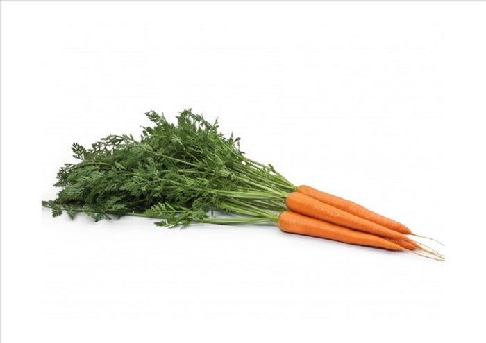 Carrots Bunched with Tops (Aprox 300g)
