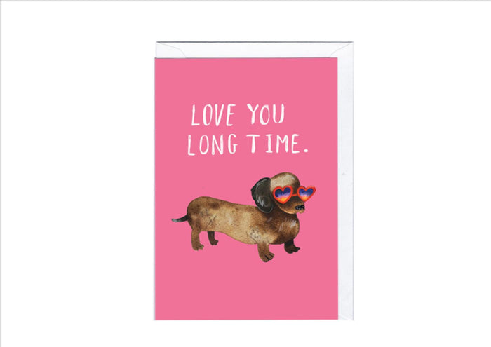 CARD - LONG TIME VALENTINE