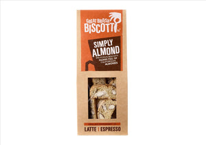 Great British Biscotti - Simply Almond Biscotti 100g - Osolocal2U