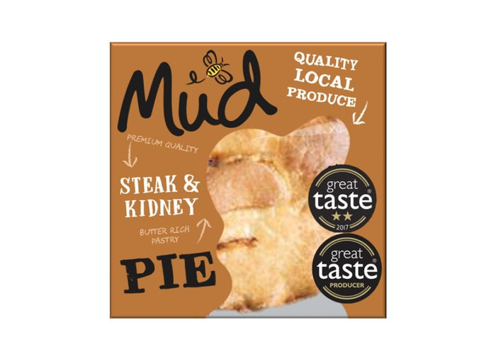 Mud - Steak & Kidney Pie (270g)