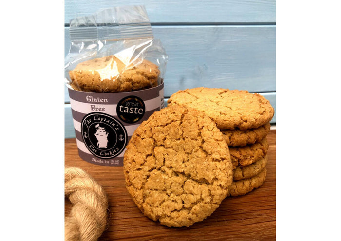 The Captain's Cookies - Gluten Free (Pack 245g)