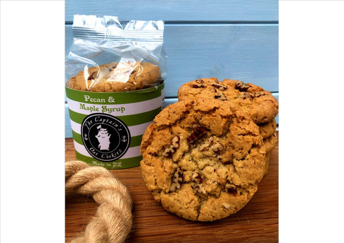 The Captain's Cookies - Pecan & Maple Syrup (Pack 240g)