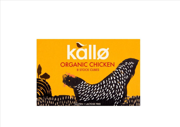 Kallo - Organic Chicken Stock Cubes (PKT 8)