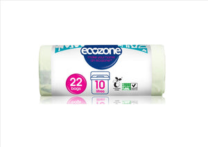 Ecozone Compostable Caddy Liner (10Ltr)