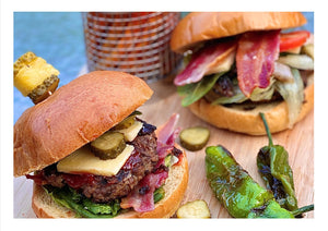 Build-Your-Own Burgers with Sweet Potato Chips - Osolocal2U