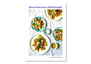 Almond & tomato gnocchi with roasted courgettes - Osolocal2U