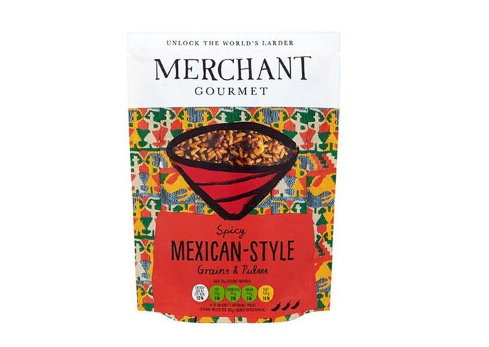 Merchant Gourmet - Spicy Mexican-Style Grains & Pulses (250g)