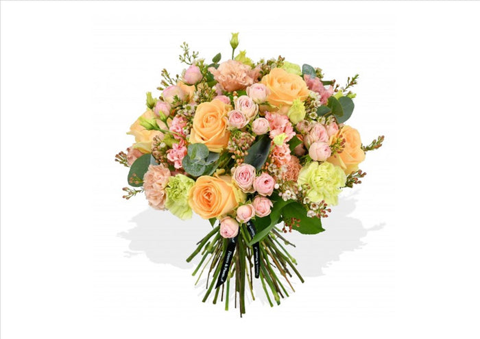 Flower Bouquet - Peachy