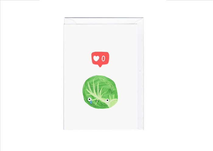 CARD - SPROUTS NO LIKES
