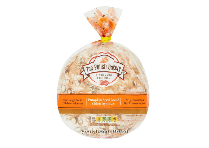 The Polish Bakery - Pumpkin Seed Bread (500g)  - **Order before 4pm for next day delivery**