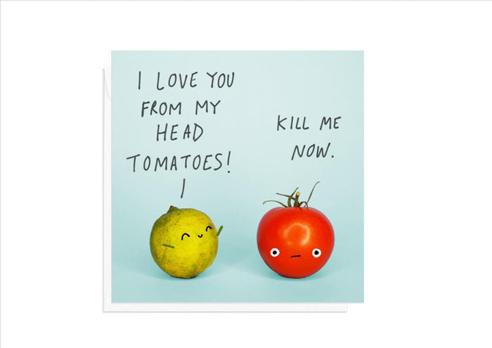 CARD - TOMATOES