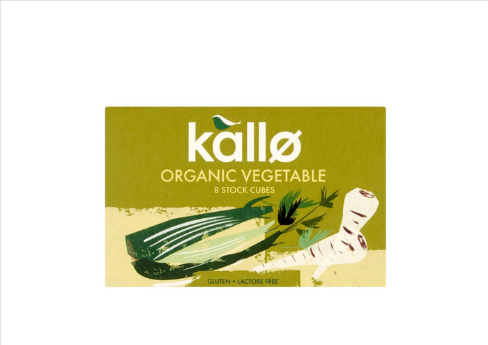 Kallo - Organic Vegetable Stock Cubes (PKT 8)