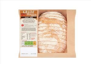 Gradz No.22 - Yeast Free Wheat Sourdough (250g)  - **Order before 4pm for next day delivery** - Osolocal2U
