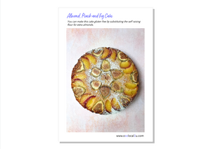 Almond, Peach and Fig Cake - Osolocal2U