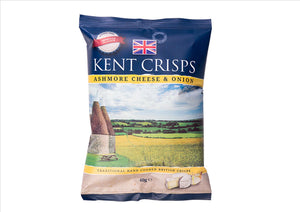 Kent Crisps - Ashmore Cheese & Onion (150g) - Osolocal2U