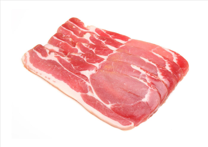 Rindless Back Bacon Unsmoked (200g), approx 5 rashers