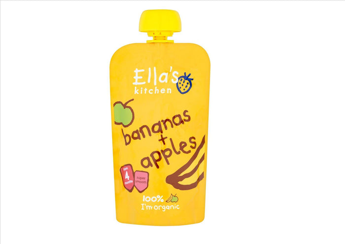 Ella's Kitchen Banana & Apples (120g)
