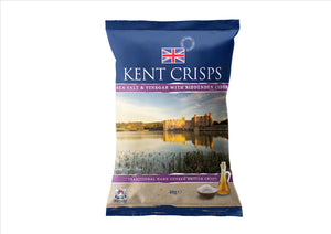 Kent Crisps - Biddenden Cider Vinegar & Sea Salt (150g) - Osolocal2U