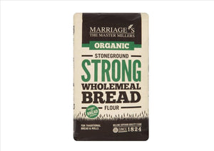Marriage's Organic Strong Wholemeal Bread Flour (1Kg) - Osolocal2U