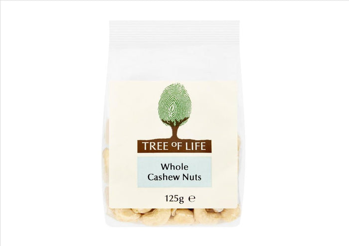 Tree of Life - Cashew Nuts (125g)