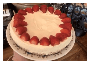 Quick and Easy Lemon and Ginger Cheesecake by Vicky Noakes - Osolocal2U
