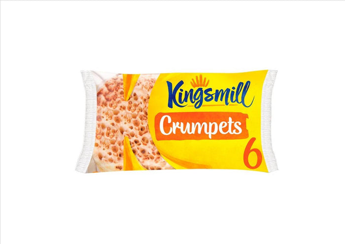 Kingsmill Crumpets (Pack of 6)