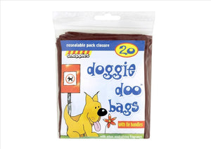 Snappies Doggie Doo Bags (20 bags) - Osolocal2U