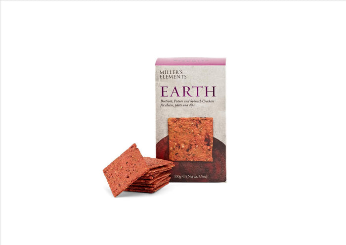 Miller's Elements - Earth Crackers 100g