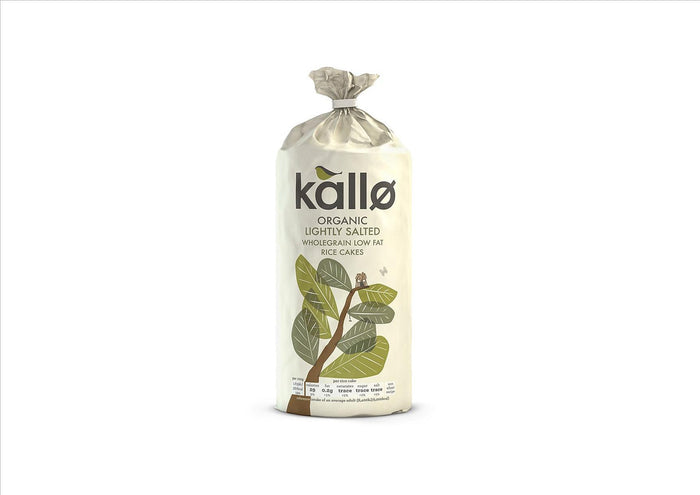 Kallo - Salted Rice Cakes (130g)