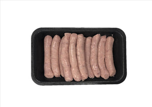 Plain Pork Chipolatas (Pack of 12) - Osolocal2U