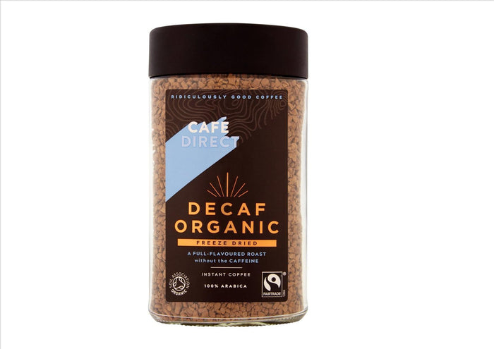 Cafédirect Fairtrade Organic Decaf Instant Coffee (100g)