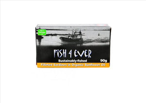 Fish4Ever - Sardines in organic sunflower oil (120g) - Osolocal2U