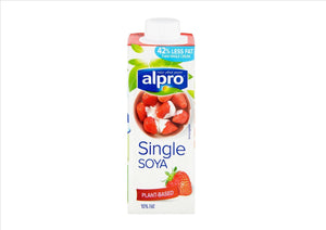 Alpro Single Soya Cream (250ml) - Osolocal2U