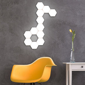 Hexagonal Touch Lights - Nuevo Zone