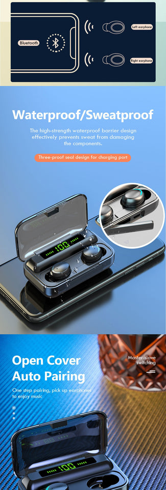 Wireless Bluetooth Earbuds - Nuevo Zone