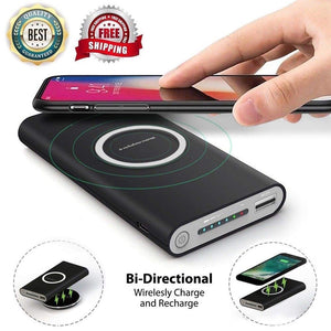 Wireless Charger & Power Bank - Nuevo Zone