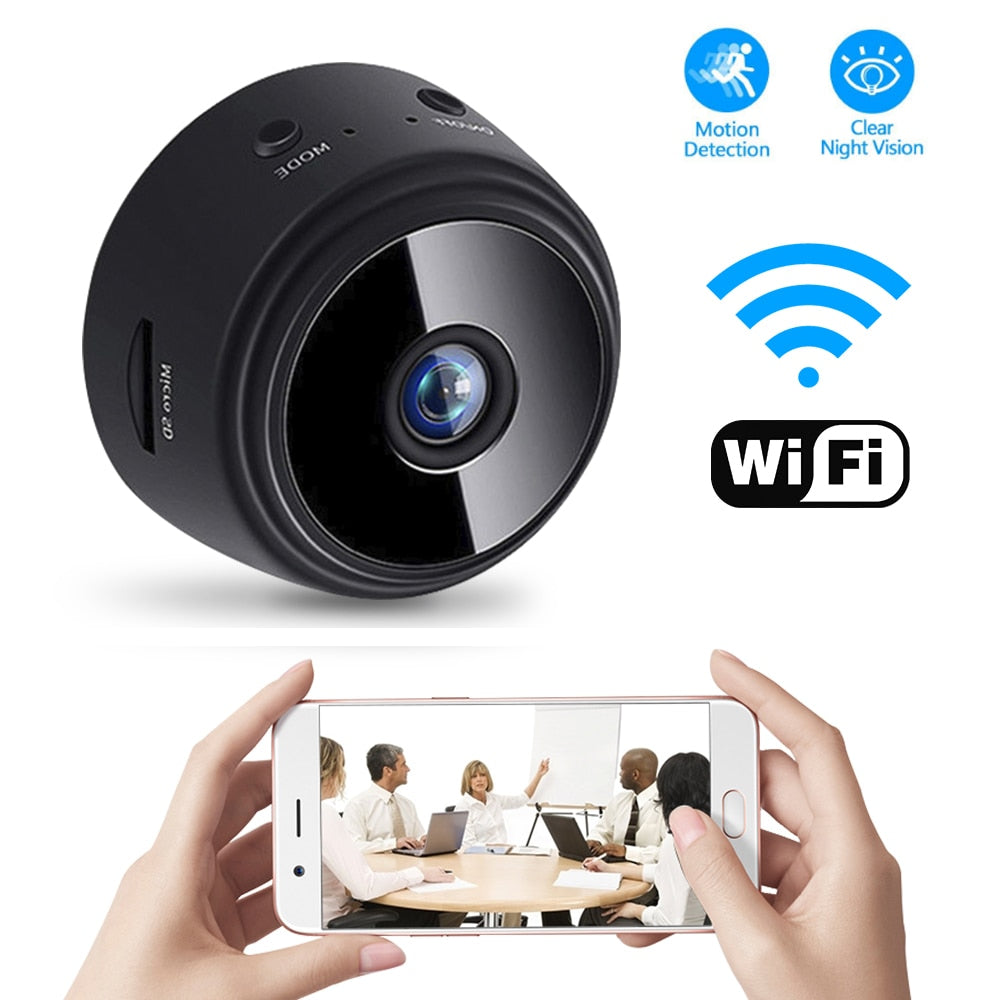 Mini WiFi Home Security Camera - Nuevo Zone
