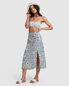 BB FIELD DAY MIDI SKIRT
