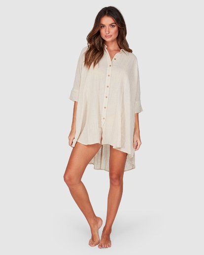 BB SO SURREAL SHIRT DRESS