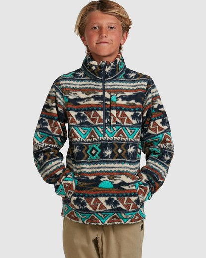 BB BOYS BOUNDARY MOCKNECK