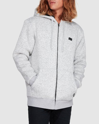 BB REVOLT ZIP THRU HOOD